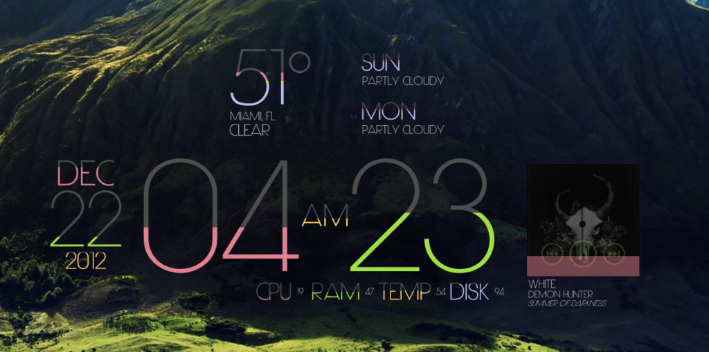 Limit Rainmeter skin